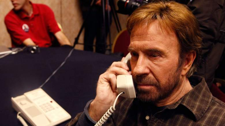 Chuck norris on that phone