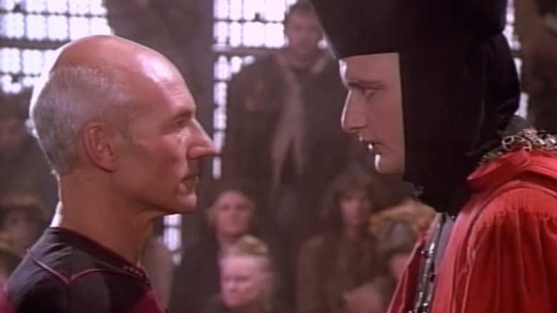 Q judging Picard