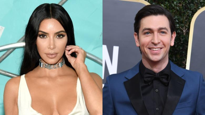 Kim Kardashian and Nicholas Braun
