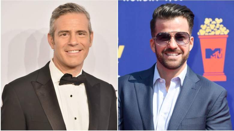 Andy Cohen and Johnny Bananas