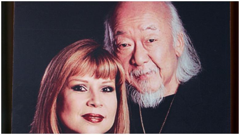 Pat Morita and Evelyn Guerrero