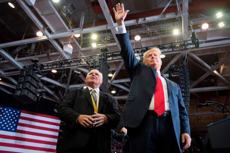 Rush Limbaugh Donald Trump
