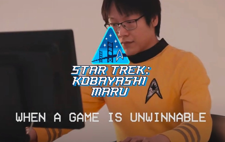 Screenshot from the Scopely Kobayashi Maru promo video