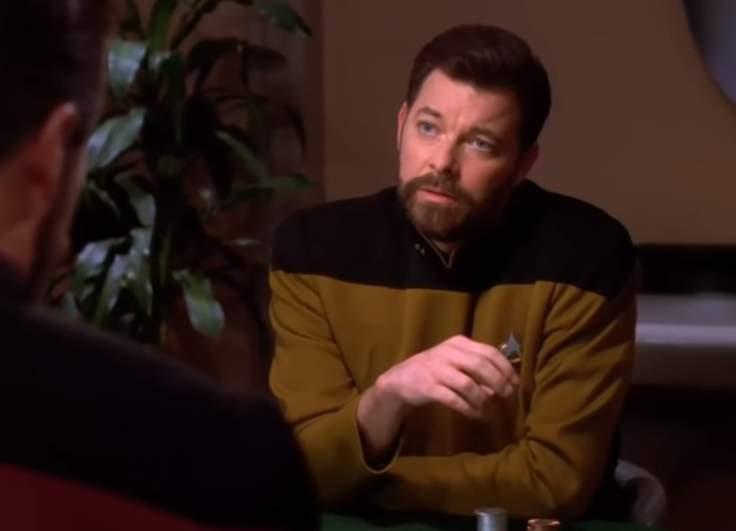 Jonathan Frakes as Thomas Riker in Star Trek The Next Generation