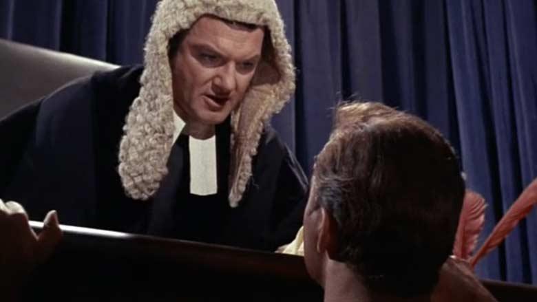 Trelane judging Kirk
