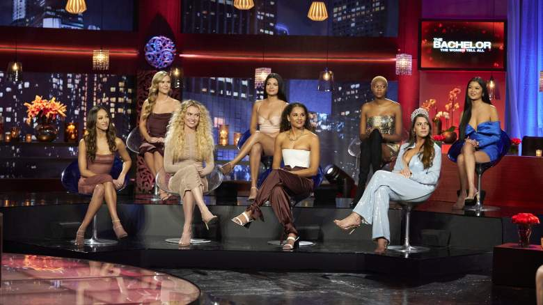 """Bachelor contestants at """"Women Tell All"""""""