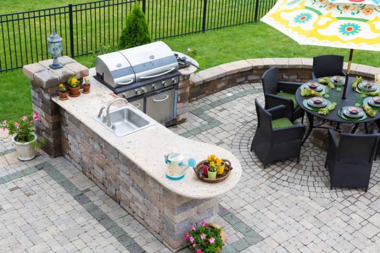built-in-grills