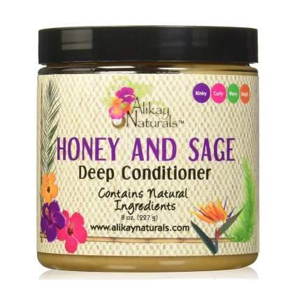 Honey and Sage hair mask jar