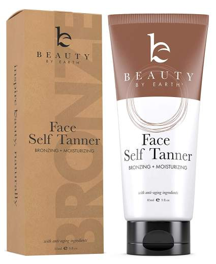 Beauty by earth best self tanners for face