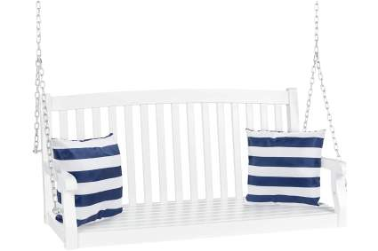 Best Choice Products 48-Inch 3-Seater Hanging Porch Swing