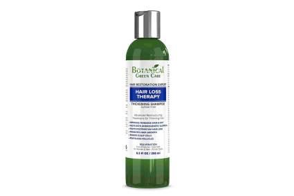 Botanical Green Care shampoo bottle