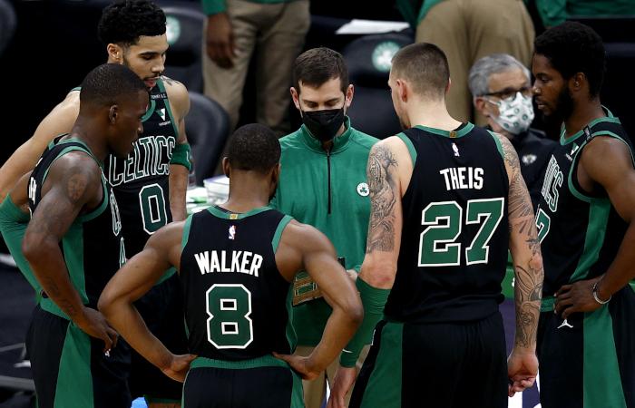 Brad Stevens Kemba Walker Boston Celtics