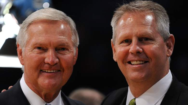 Danny Ainge and Jerry West