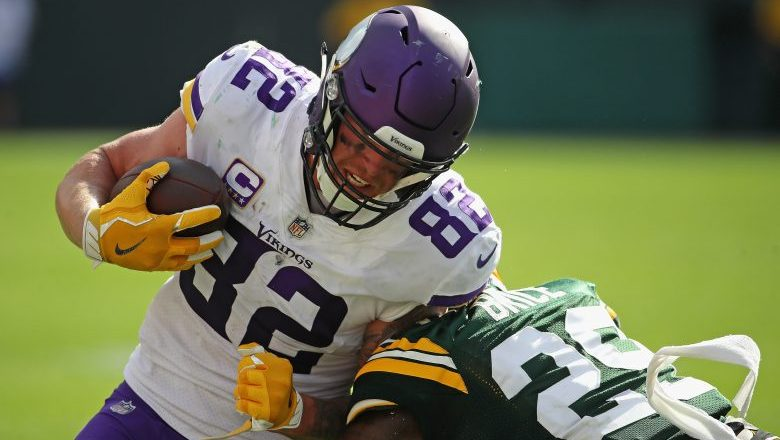 Kyle Rudolph signing could fall through for Giants