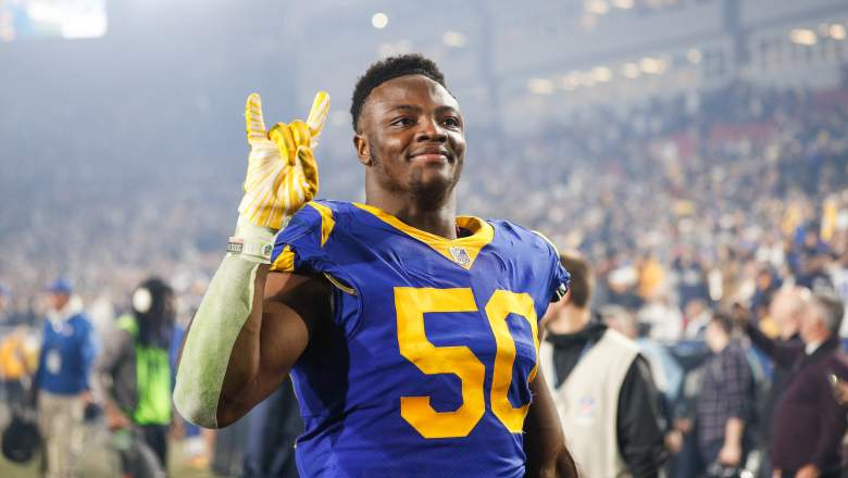 Rams linebacker Samson Ebukam