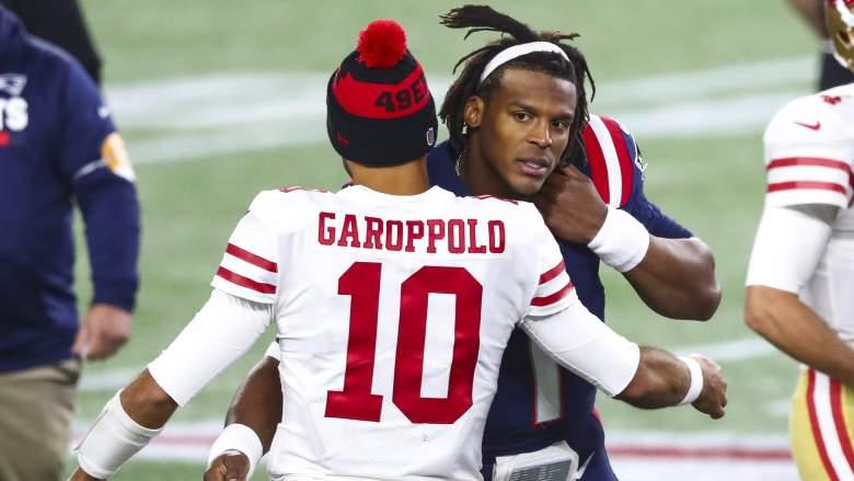 Jimmy Garoppolo 49ers Patriots
