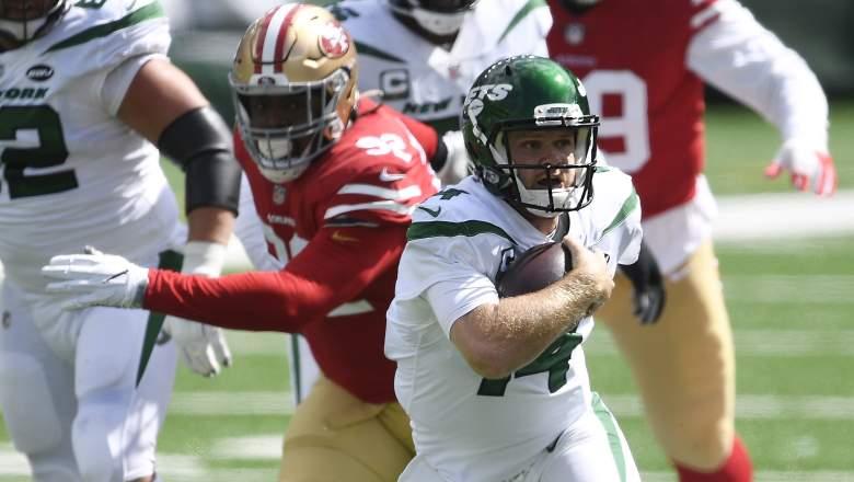 Sam Darnold Jets 49ers