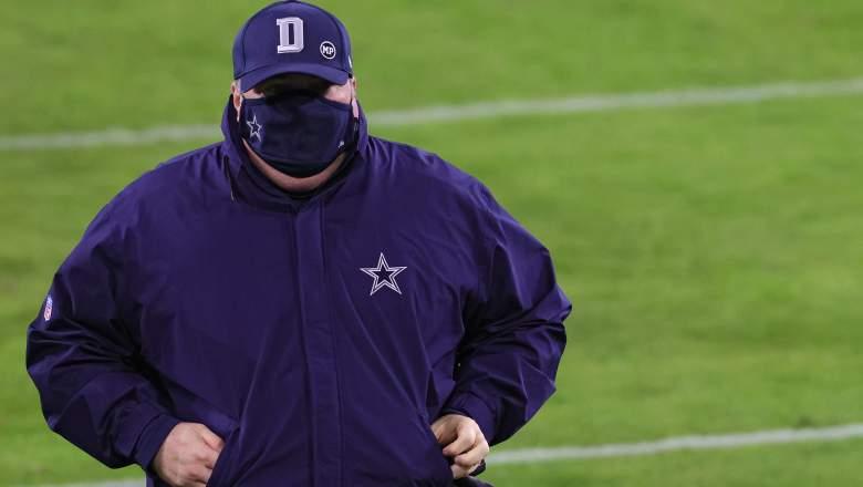 Cowboys head coach Mike McCarthy