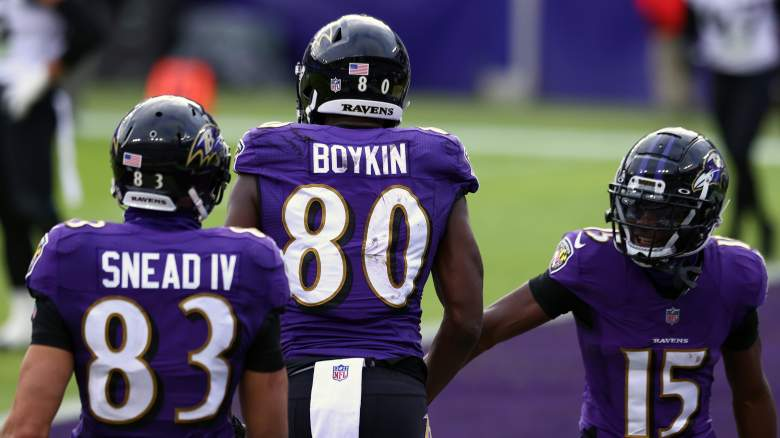 Ravens wide receivers