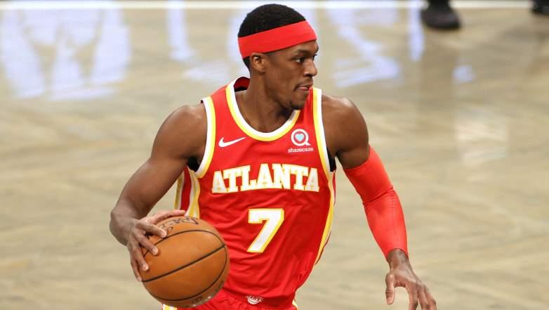 Rajon Rondo Hawks Clippers
