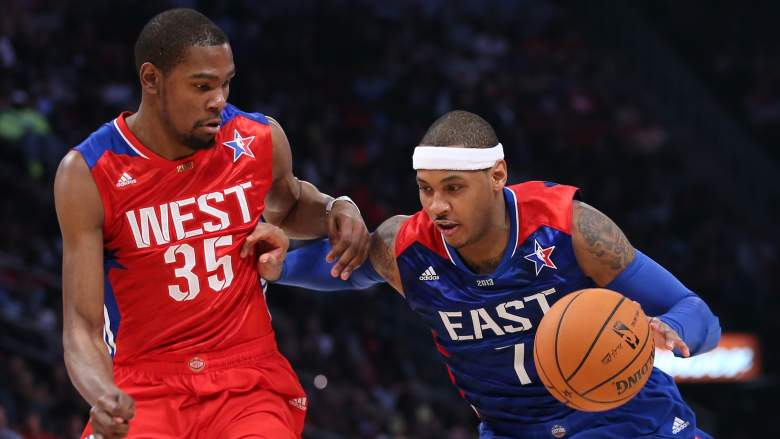 Kevin Durant, Carmelo Anthony