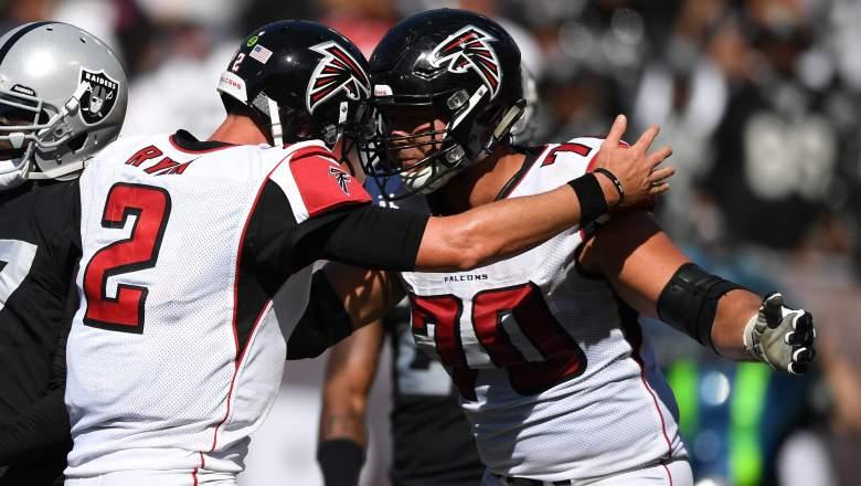 Falcons OT Jake Matthews