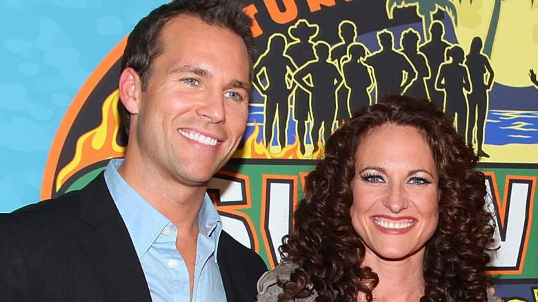 """Television personalities Colby Donaldson and Jerri Manthey attend the """"Survivor: Heroes Vs Villains"""" finale reunion show"""