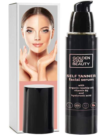 Golden star beatuy best self tanners for face