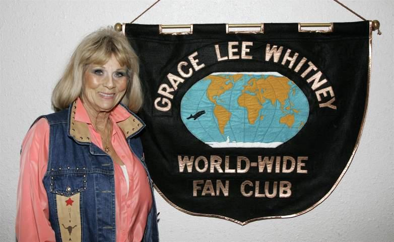 Actress Grace Lee Whitney poses at Creation Entertainment's Grand Slam XIV: The Sci-Fi Summit