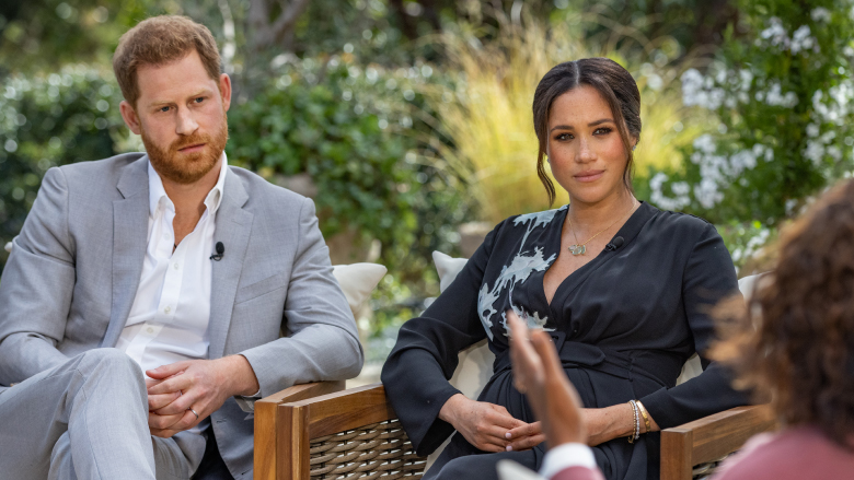 Prince Harry and Meghan Markle sit down with Oprah Winfrey for a televised special.