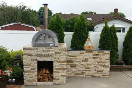 Il Fornio Wood Burning Pizza Oven