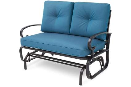 Incbruce Outdoor Swing Glider Rocking Chair Patio Bench