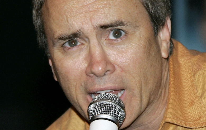 Jeffrey Combs appears on stage at Grand Slam XIV: The Sci-Fi Summit on March 11, 2006 in Pasadena, California.