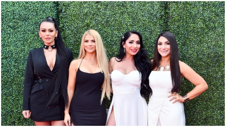 """Jenni """"JWoww"""" Farley, Lauren Sorrentino, Angelina Pivarnick and Deena Nicole Cortese"""