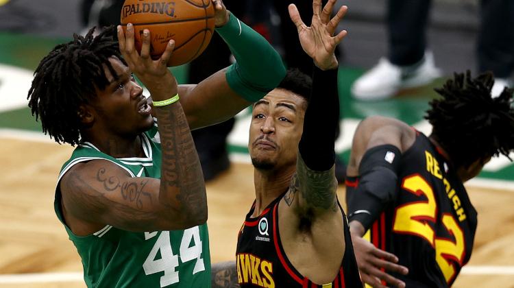 John Collins Celtics Hawks