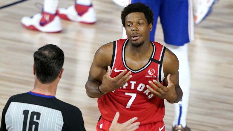Kyle Lowry Raptors Sixers