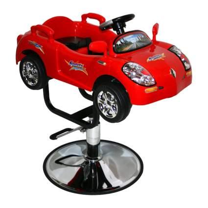 red sports car kid's salon chair