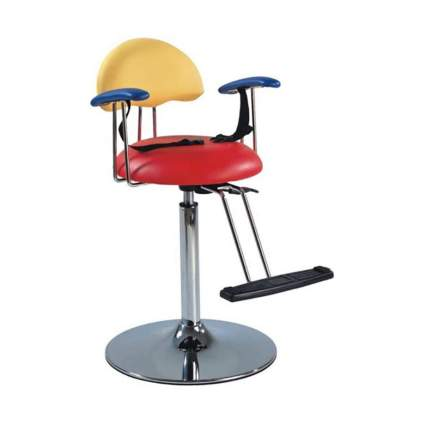 Bright primary colors swivel stool for kids