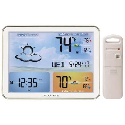 wireless large display weather station