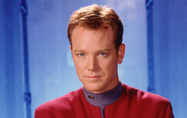 "Robert Duncan McNeill as Tom Paris on ""Star Trek: Voyager"""