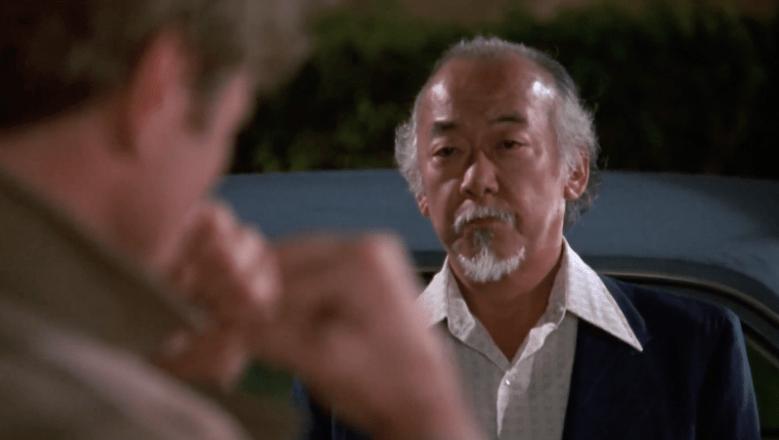 Miyagi and Kreese face off