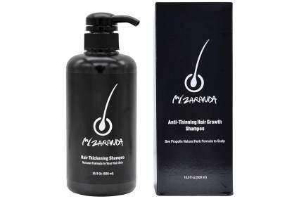 Black korean beauty shampoo with box