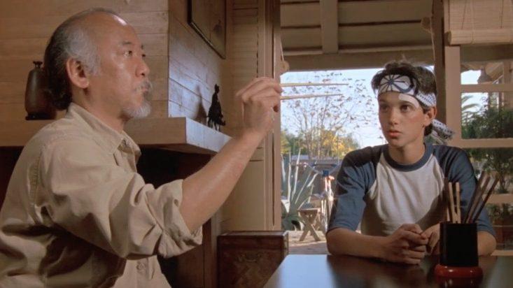 Daniel & Mr. Miyagi