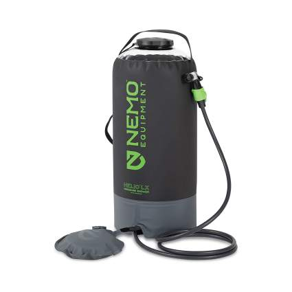 Nemo Helio Portable Pressure Camp Shower