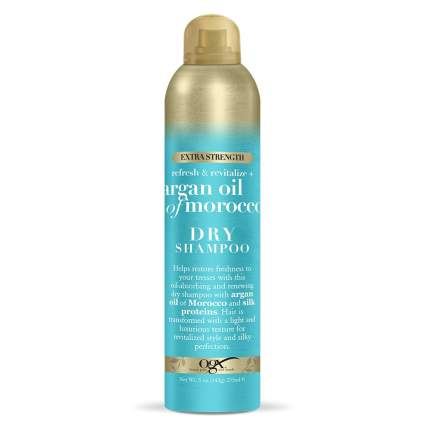 OGX dry shampoo best for curly hair