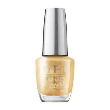 Gold chrome nail polish bottle from OPI