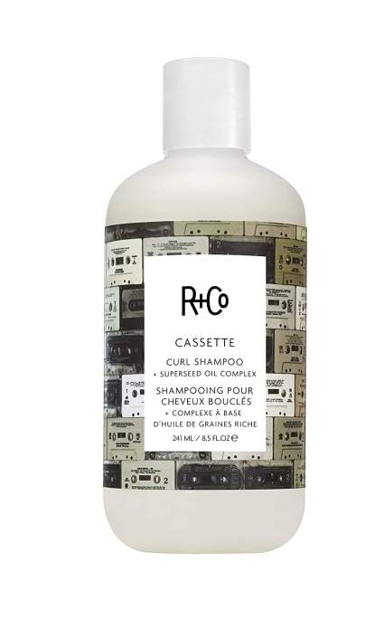 R+CO caesette curl best shampoo for curly hair