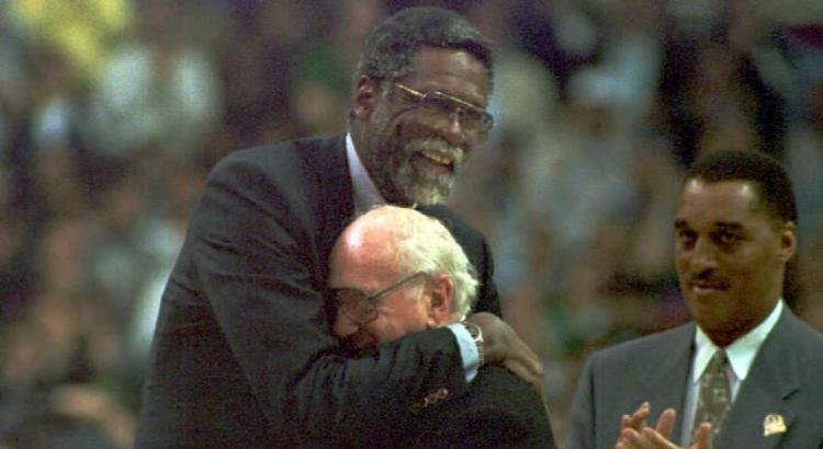 Bill Russell Red Auerbach Celtics