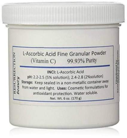 Ressurectionbeauty Vitamin C powder for Face