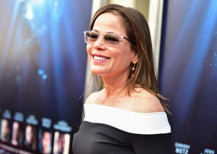 """Director Roxann Dawson attends the premiere of 20th Century Fox's """"Breakthrough"""" at Westwood Regency Theater on April 11, 2019 in Los Angeles, California."""